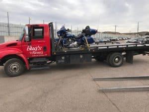 motorcycle towing colorado springs
