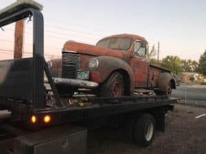 colorado springs towing, classic car towing