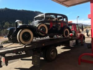 Colorado Springs towing classic car